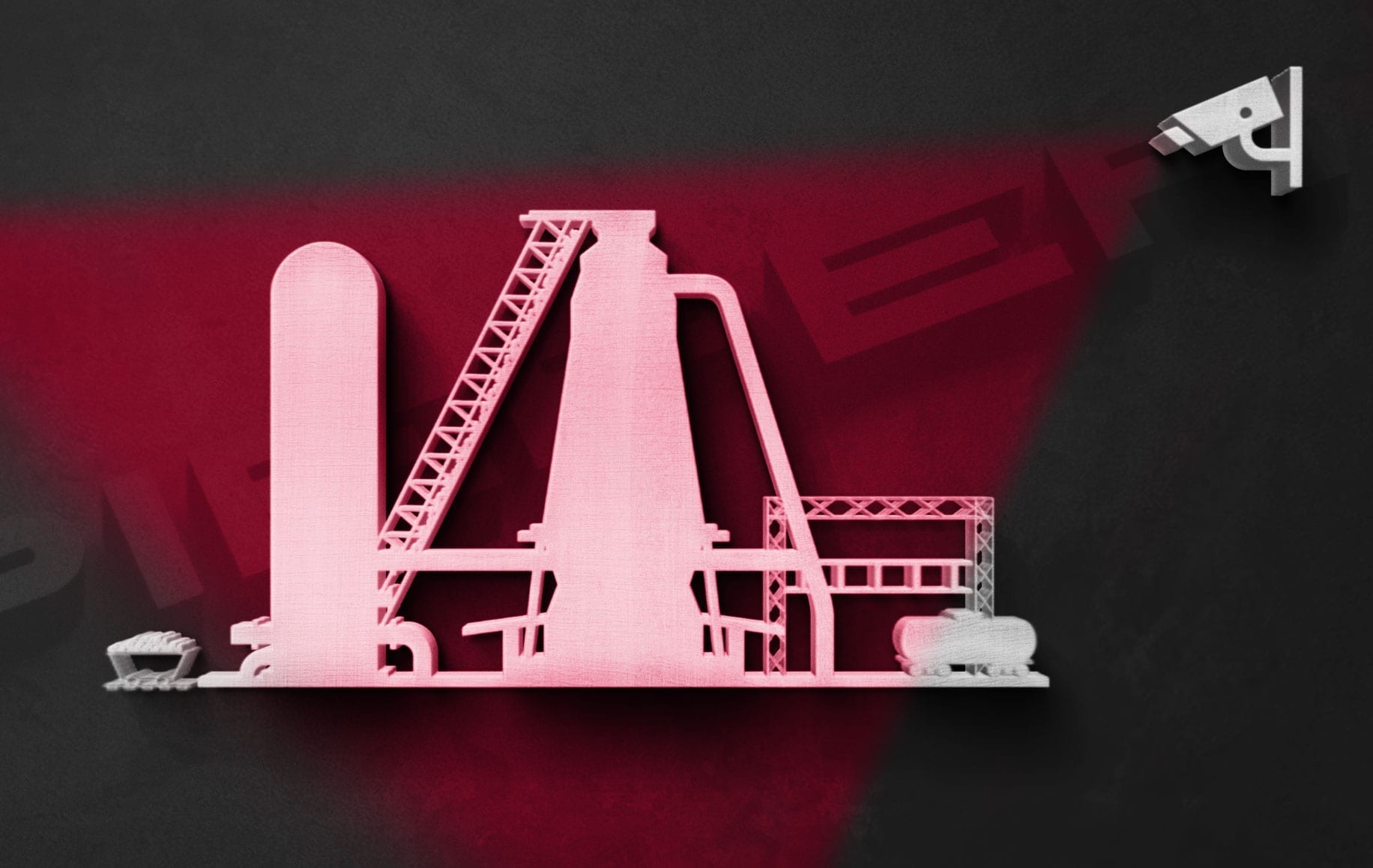 Blast furnace overview cameras Pieper